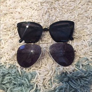 BP sunglasses - aviators and cat eye sunglasses